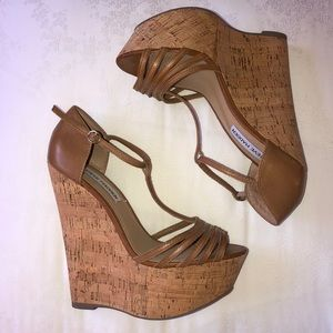 Steve Madden Greatful wedge heels size 6